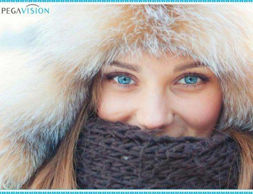 Мёрзнут ли глаза зимой?